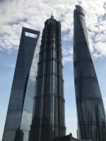 018 - World Financal Center , Jin Mao Tower und Shanghai Tower