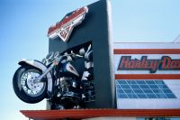 043 - Harley Davidson Shop am Las Vegas Strip