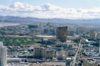 062 - Blick vom Stratosphere Tower auf den Las Vegas Boulevard - The Strip